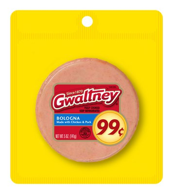 Gwaltney Pegged Pack Meat Bologna