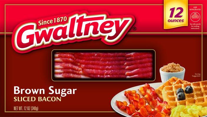 Brown Sugar Sliced Bacon