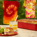 Breakfast Sliders & Tie-Dye