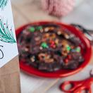 Chocolate Bacon Bark and Giveaway Bag