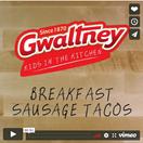 Breakfast Sausage Tacos