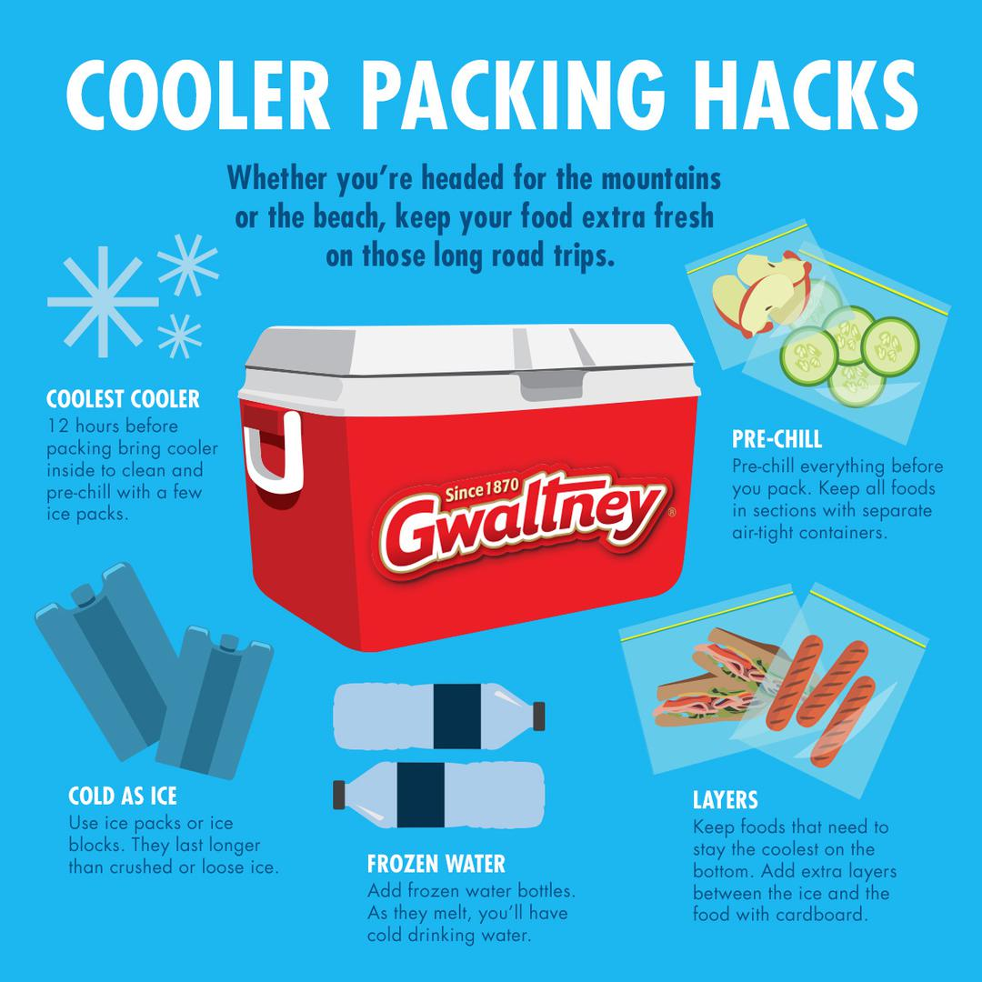 Cooler Packing Hacks