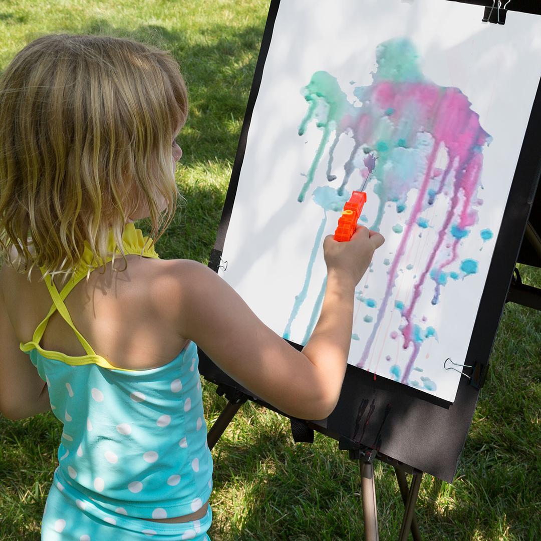 Squirt Gun Canvas Painting